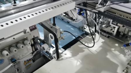 China-volles automatisches Tuch, das Maschine herstellt
