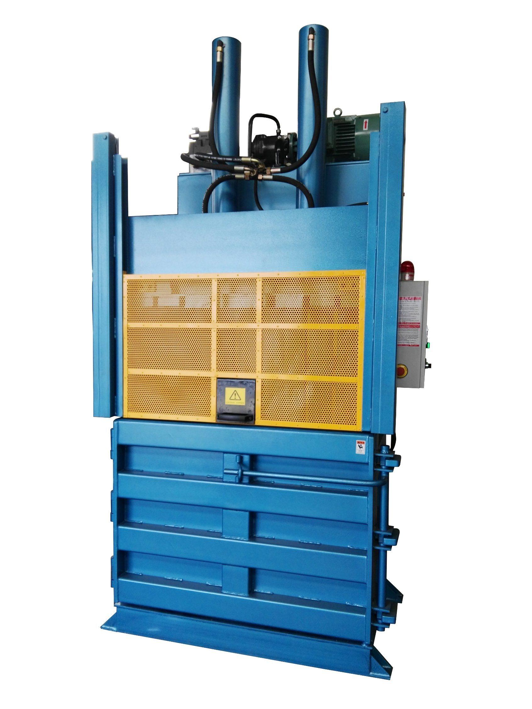 金属 / 紙 / ボール紙 / プラスチック / ボトル / タイヤ / 衣服用セミオート産業廃棄物油圧装置