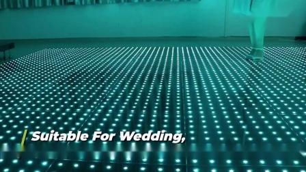 マグネット LED スターデジタルフロアダンス iPad コントロール LED ダンス 床パネルは星明かりの床のダンスを明るくする