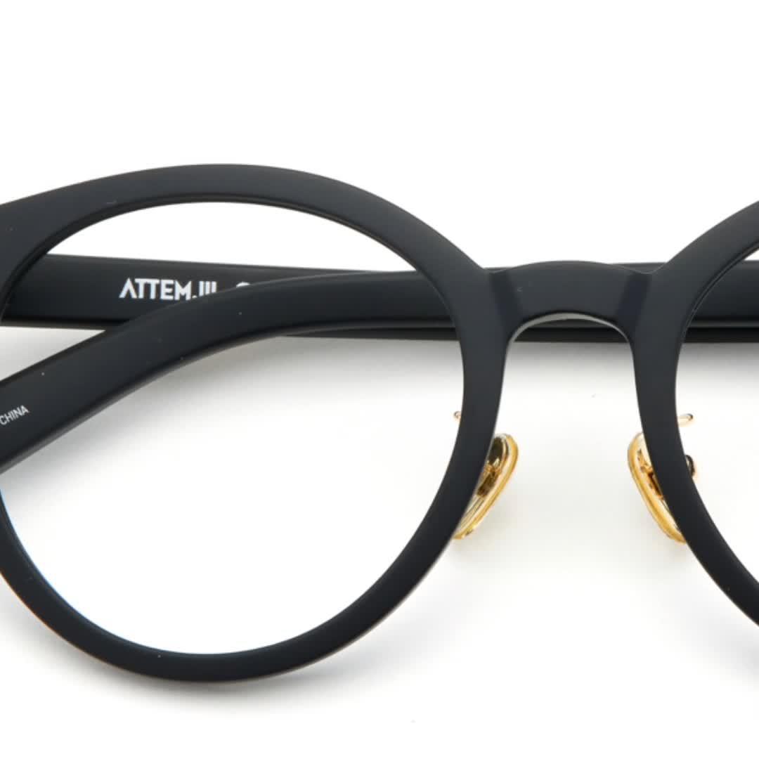 La ronda de la moda Vintage de acetato de anteojos de Marco, Spcetacle óptica gafas