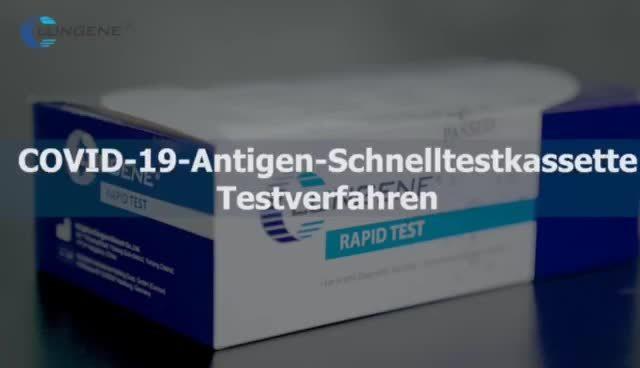 Cassetta per test rapida di alta qualità in una fase, anticorpo lgG/LGM Factory Direttamente CE
