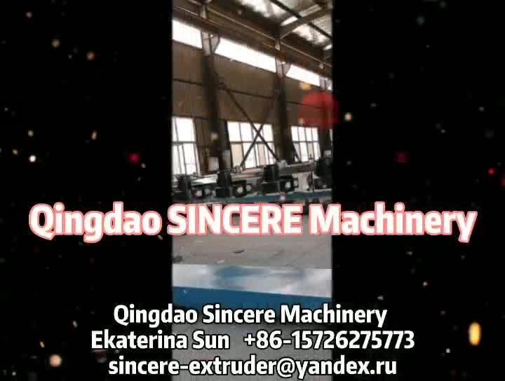 HDPE 파이프 머신, HDPE 용수 공급 파이프 돌출 라인(레이저 프린터 630 800 포함