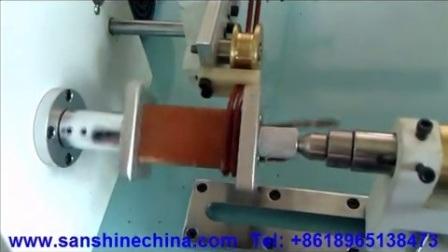 Automatischer Durchmesser Für Große Drähte Transformator Spulenkuliermaschine (Serie SS85X)