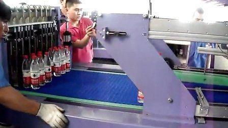 Impaccatrice a film termoretraibile a doppia spinta per l'imbottigliamento dell'acqua (WD-350B)