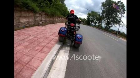 卸し売り4000W強力な脂肪質のタイヤ3 3車輪EECの二重モーター中国大人の電気Trikeの移動性5000Wの電気スクーターのチョッパーのオートバイ