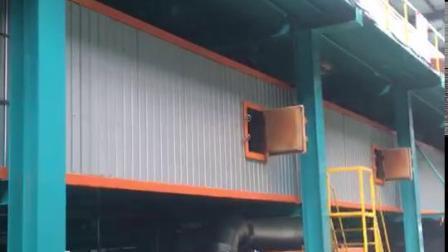 0,17-1,2mm línea de producción de acero recubierto de color
