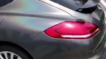 Голографическая лазера черного цвета радуги Prisma Car Wrap виниловой пленки