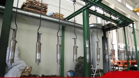 二重代理油圧ピストンシリンダー油圧ジャックシリンダー