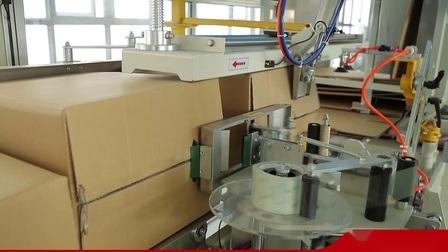 Les emballages de boissons cas automatique Erector érigeant formant la machine d'étanchéité de remplissage