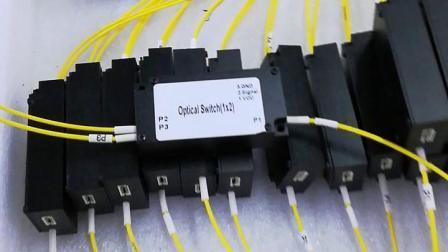 D1X2 с многомодового оптоволоконного механический переключатель для телекоммуникационных сетей FTTH