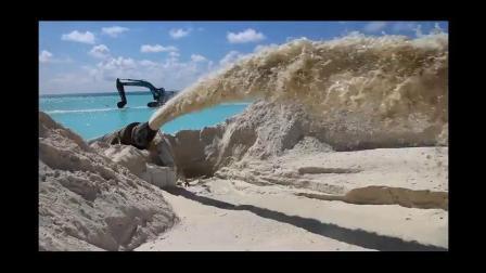 Pompe de sable drague pour récupérer de limon dans le lac (CDD 300)