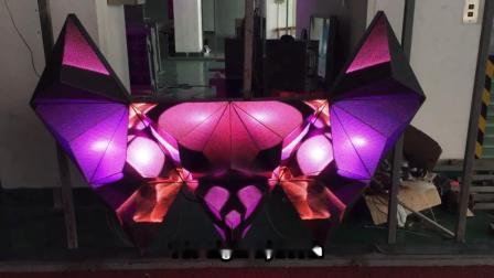 カラフルな屈折可能な装飾的なピクセルの照明 LED DJ ブースの家具