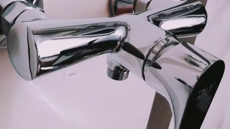 Miscelatore fissato al muro amichevole dell'acquazzone del bicromato di potassio di Eco del rubinetto d'ottone del bagno