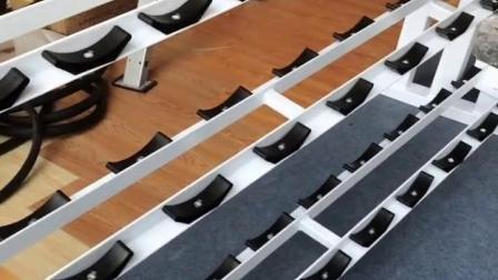 3-10pairs Stahl Multideck Hantel Rack für kommerzielle Turnhalle
