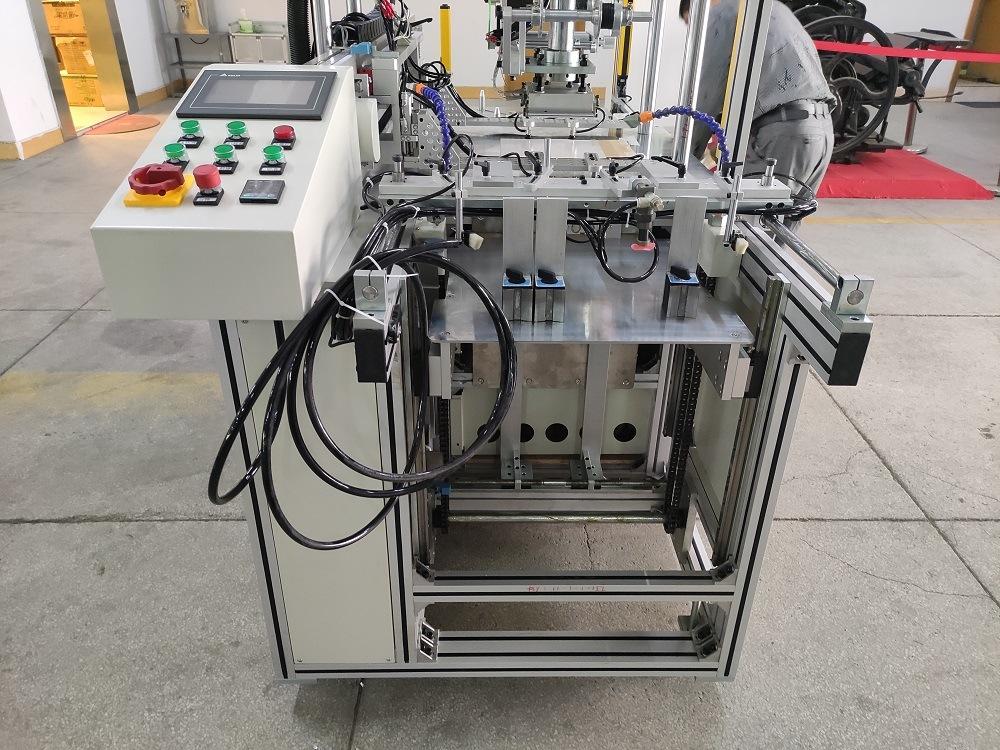 Automatische Folien-Aushaumaschine/heißes Folien-Stempeln
