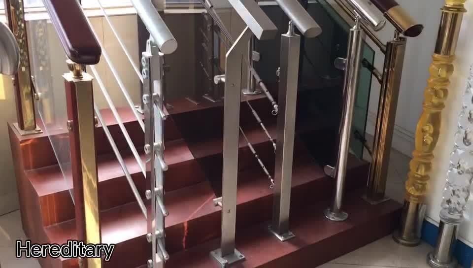 Aleación de aluminio de alta calidad Precios balaustrada Outdoor Indoor barandillas de escalera de metal moderno