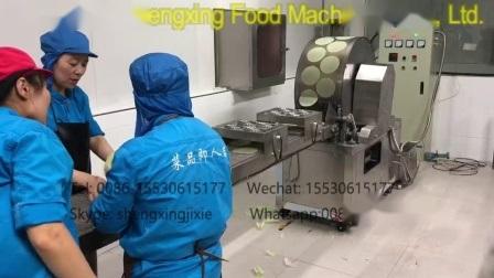 Hoja de máquina automática de rollo de primavera