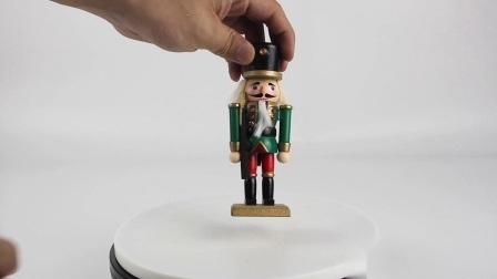 Novo chegar a decoração interior Custom pequena mesa de soldados de madeira Nutcracker Boneca de Natal