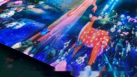 Plancher de danse de Starlight électrique lumineux LED RVB acrylique Pixel vidéo Les panneaux de plancher de danse