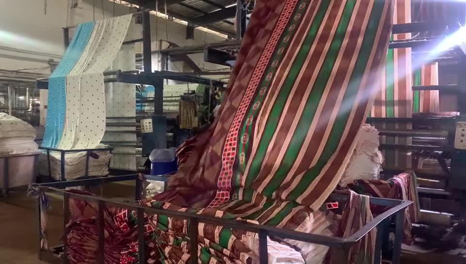 Tessuto in Mirofibra spazzolata 100 Polyestr per la biancheria da letto Foglio