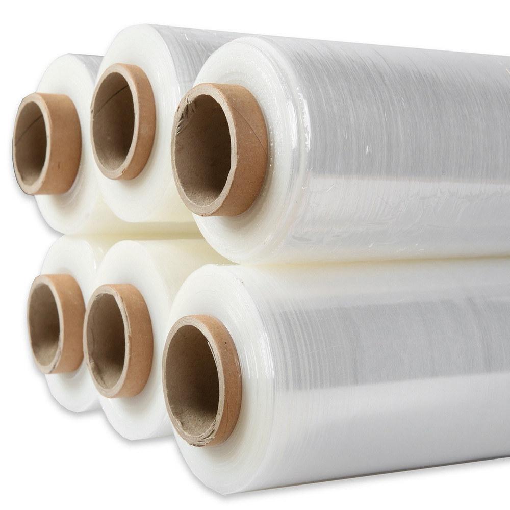 Литой пластмассовый поддон Wrap PE Stretch упаковки пленки/поддоне термоусадочной пленки