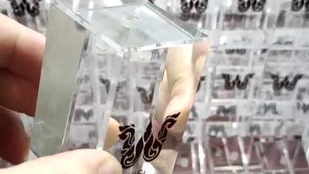 透明アクリル製プレキシガラス製スカーティアウォッチディスプレイスタンド