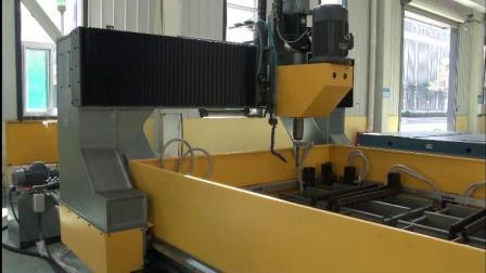 Foratrice a piastre CNC, foratrice CNC per piastre metalliche