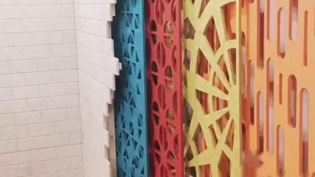 Verschiedene Formen und Farben erhältlich Polyester Fiber Bildschirm