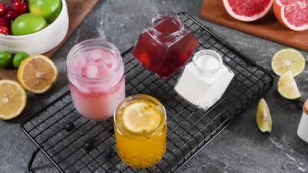 Jarres en verre avec couvercles pour la mise en conserve des aliments