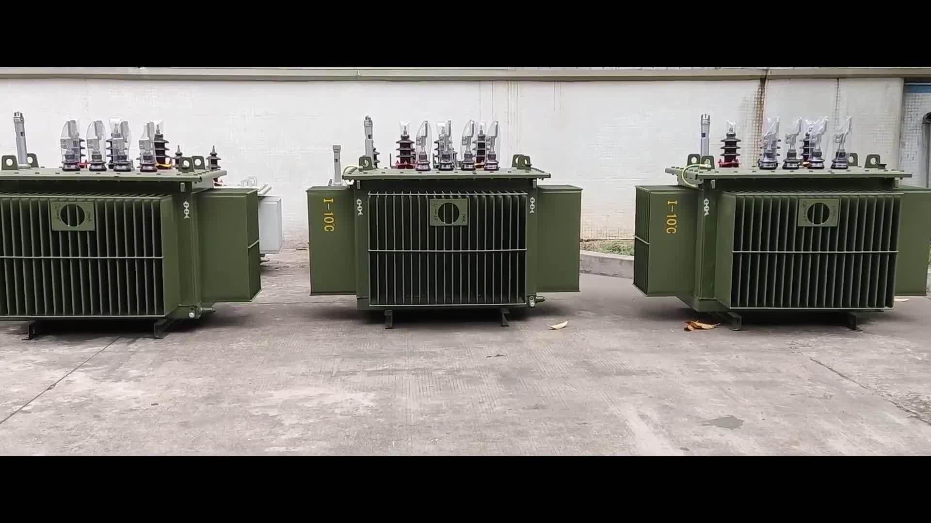 Distribuzione di potenza ad olio Dyn11 ad alta tensione 10 kv 1000 kVA Prezzo trasformatore