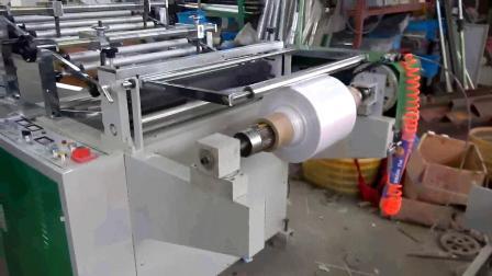 기저귀 부대를 위한 플레스틱 필름 PE 측 Gusseting Wsg 수평한 기계