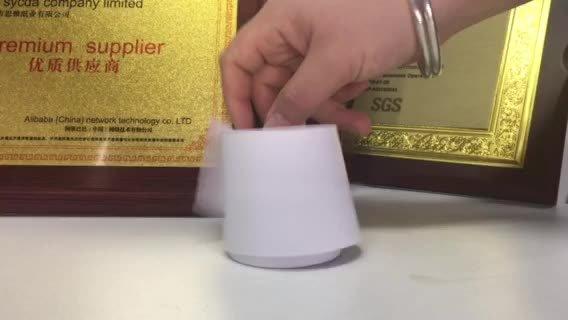 L'OEM ha stampato il rullo di carta del documento termico dell'atmosfera per la Banca