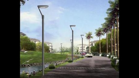 5 Jahre Garantie DMX Control LED Outdoor Street Garden Light LAMPE 30W 60W 90W 100W 120W 150W