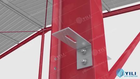 2020 L'usine d'assurance qualité de la vente directe entrepôt Préfabriquées Préfabriqués Peb Structure en acier avec certificat CE