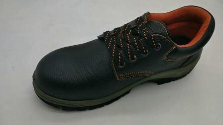 PU alleinige en-echtes Leder-industrielle Industrie-Stahlzehe-Sicherheits-Arbeits-Schuhe für Mann-Arbeits-Sicherheits-Schuhe Ufa006 Mann-Europa-En20345 China