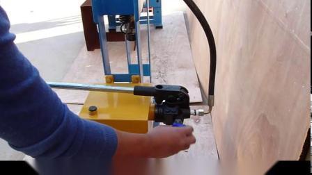 20-50 ton Handmatige Gantry hydraulische persmachine