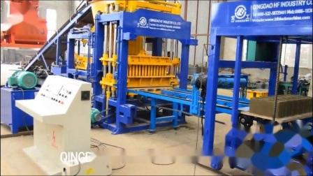 Qt5-15 plein hydraulique automatique machine à fabriquer des blocs de béton de ciment creux en briques fabriquées en Chine