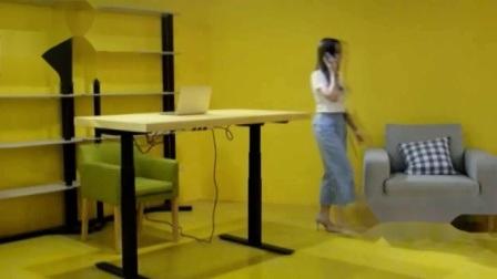 Два электродвигателя электропривода письменный стол с регулировкой по высоте сесть встать Office Desk