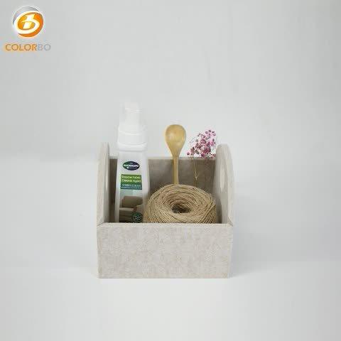 Kreativität Polyester-Faser Umweltfreundliche Haushalt Dekoration Akustische Aufbewahrungsbox
