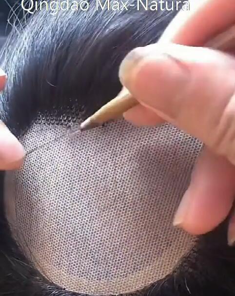 أكثر أنواع الشعر الطبيعية صنع الشعر البشري من أفضل نوعية للرجال