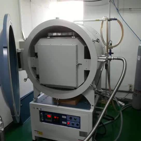 1700c 高温ボックス大気-マッフル炉/真空大気炉- 0.08MPa (保護ガスあり