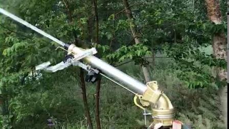 Lange Reichweiten-Auswirkung-Metallfarbspritzpistole-justierbare Höhenwinkel-grosse Regen-Gewehr für die Landwirtschaft mit Vielzahl der Kaliber-Klagen