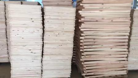 Barre de civière en bois de toile tendue pour l'huile de peinture et de gravures de toile en bois intérieur