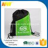 Sport Gym Drawstring Bag with Side Pocket