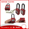 38mm Plastic Shackle Safety Padlock with Master Key
