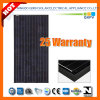 185W 125*125 Black Mono Silicon Solar Module with IEC 61215, IEC 61730