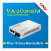 10/100m Single-Mode Dual-Fiber Media Converter With Two Interface