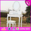 New Design Luxurious Bedroom Solid Wooden Dressing Table with Drawers W08h071