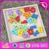 New Design Toddlers Educational Numbers Wooden Math Games for Kids W14b073
