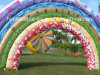 Magic Colorful Inflatable Arch/Lighting Arch/Event Decoration/Square Decoration